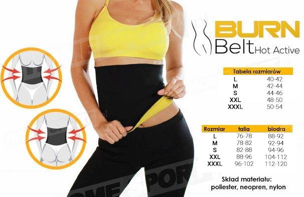 burn belt pas neoprenowy